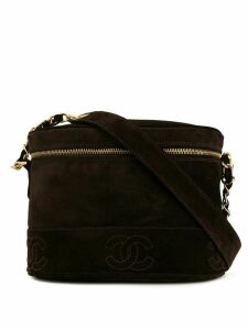 Chanel Pre-Owned 1997's Triple CC Chain shoulder bag - Brown