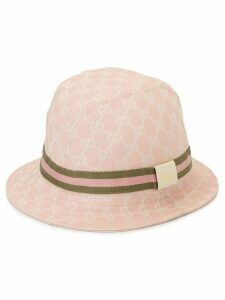Gucci Pre-Owned Shelly Line hat - PINK