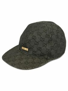 Gucci Pre-Owned GG pattern cap - Grey