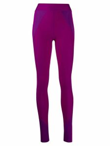 Isabel Marant panelled performance leggings - PINK