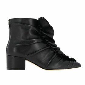 Sergio Rossi Flat Booties Shoes Women Sergio Rossi