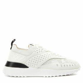Tods White Leather Holes Sneaker