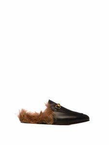 Gucci Gucci Princetown Leather Slipper