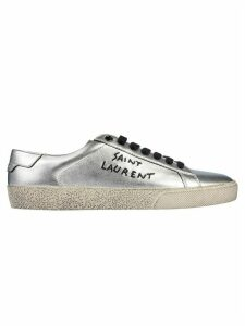 Saint Laurent Logo Detail Low Top Sneakers