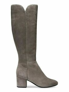 Denise Suede Mid-Calf Boots