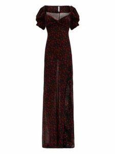 Rat & Boa - Magnolia Floral-print Georgette Maxi Dress - Womens - Multi