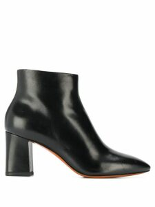 Santoni pointed toe ankle boots - Black