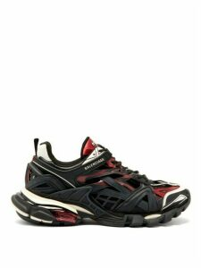 Balenciaga - Track 2 Trainers - Womens - Black Burgundy