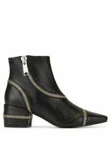 Senso Narissa zipper boots - Black