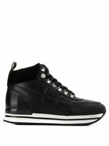 Hogan H222 sneaker boots - Black