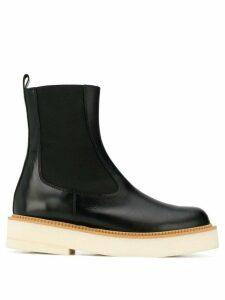 Paloma Barceló flatform ankle boots - Black