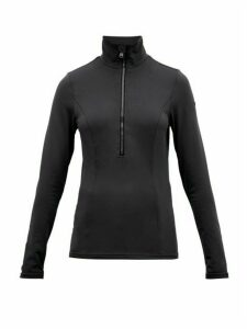 Goldbergh - Serena Half Zip Technical Ski Sweater - Womens - Black