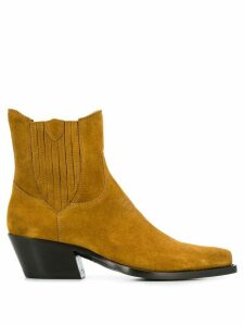 Htc Los Angeles Western ankle boots - NEUTRALS