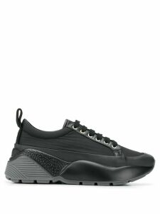 Stella McCartney oversized lace-up sneakers - Black
