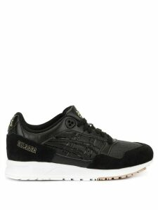 Asics Gel Saga croc embossed sneakers - Black