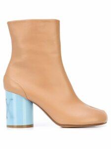 Maison Margiela Tabi toe ankle boots - Brown