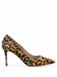 Veronica Beard Aurora leopard print pumps - Brown
