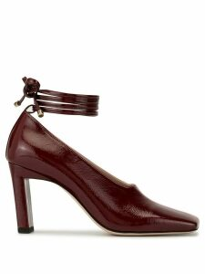Wandler Isa 85mm pumps - Red