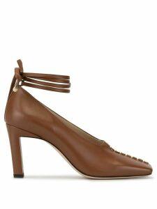Wandler Isa 85mm pumps - Brown