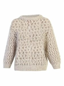 Brunello Cucinelli Lurex Effect Sweater