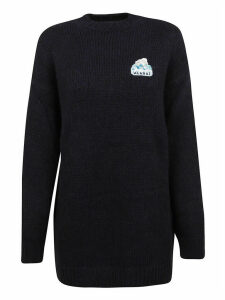 Alanui Global Warming Maxisweater Beluga Blue M