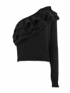Philosophy di Lorenzo Serafini Black Wool Blend Sweater
