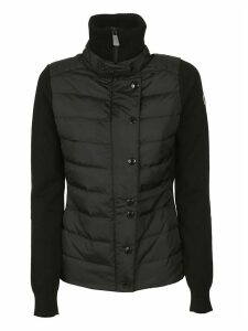 Moncler Turtleneck Padded Buttoned Cardigan