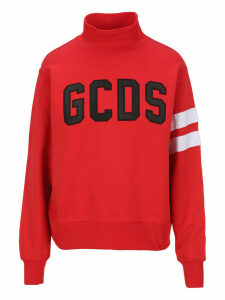 Gcds High Neck Sweatshirt
