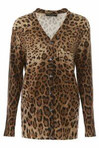 Dolce & Gabbana Leopard-printed Cardigan