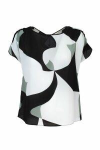 Emporio Armani crepé blouse