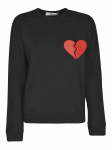 MSGM Heart Break Sweatshirt