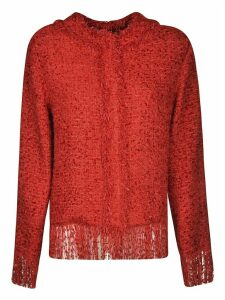 MSGM Frayed Sweater