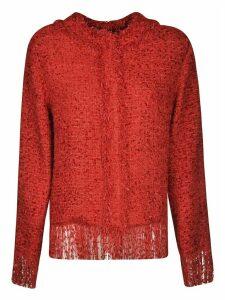 MSGM Frayed Sweater