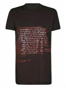DRKSHDW Letter Printed T-shirt