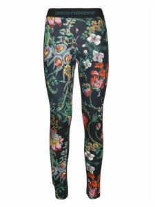 Paco Rabanne Floral Print Leggings
