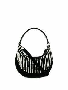 Les Petits Joueurs Cindy Evening Crystal shoulder bag - Black
