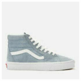 Vans Women's Sk8-Hi Suede Trainers - Blue Fog/True White
