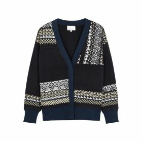 3.1 Phillip Lim Fair Isle Wool-blend Cardigan