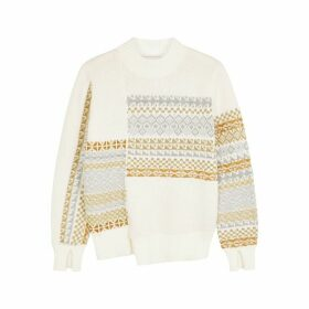 3.1 Phillip Lim Fair-Isle Wool-blend Jumper