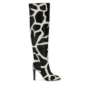 Giuseppe Zanotti Kubrick 105 Giraffe-print Knee-high Boots