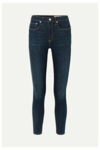 rag & bone - Nina High-rise Skinny Jeans - Dark denim
