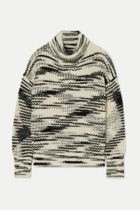 Joseph - Painted Merino Wool-blend Turtleneck Sweater - Ivory