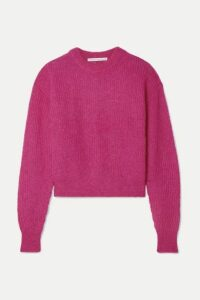 Veronica Beard - Melinda Knitted Sweater - Fuchsia