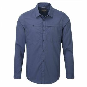 Kiwi Trek Long Sleeved Shirt Dusk Blue