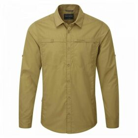Kiwi Trek Long Sleeved Shirt Light Olive