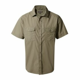 Kiwi Short Sleeved Shirt Pebble