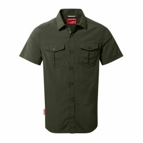 NosiLife Adventure Short Sleeved Shirt Dark Khaki