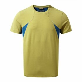 Fusion Short Sleeved T-Shirt Sulphur Yellow
