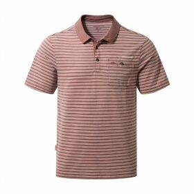 NosiLife Gilles Short Sleeved Polo Carmine Combo