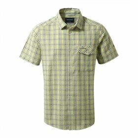 Warby Short Sleeved Shirt Soft Khaki Combo